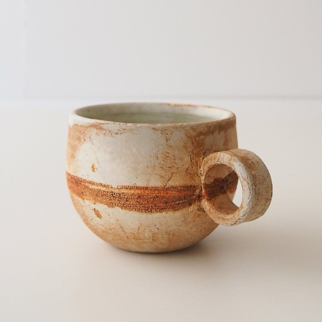 遺跡/丸いマグカップ