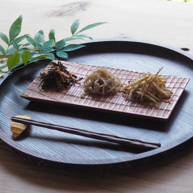 木の削り箸/23cm/木槲(もっこく)