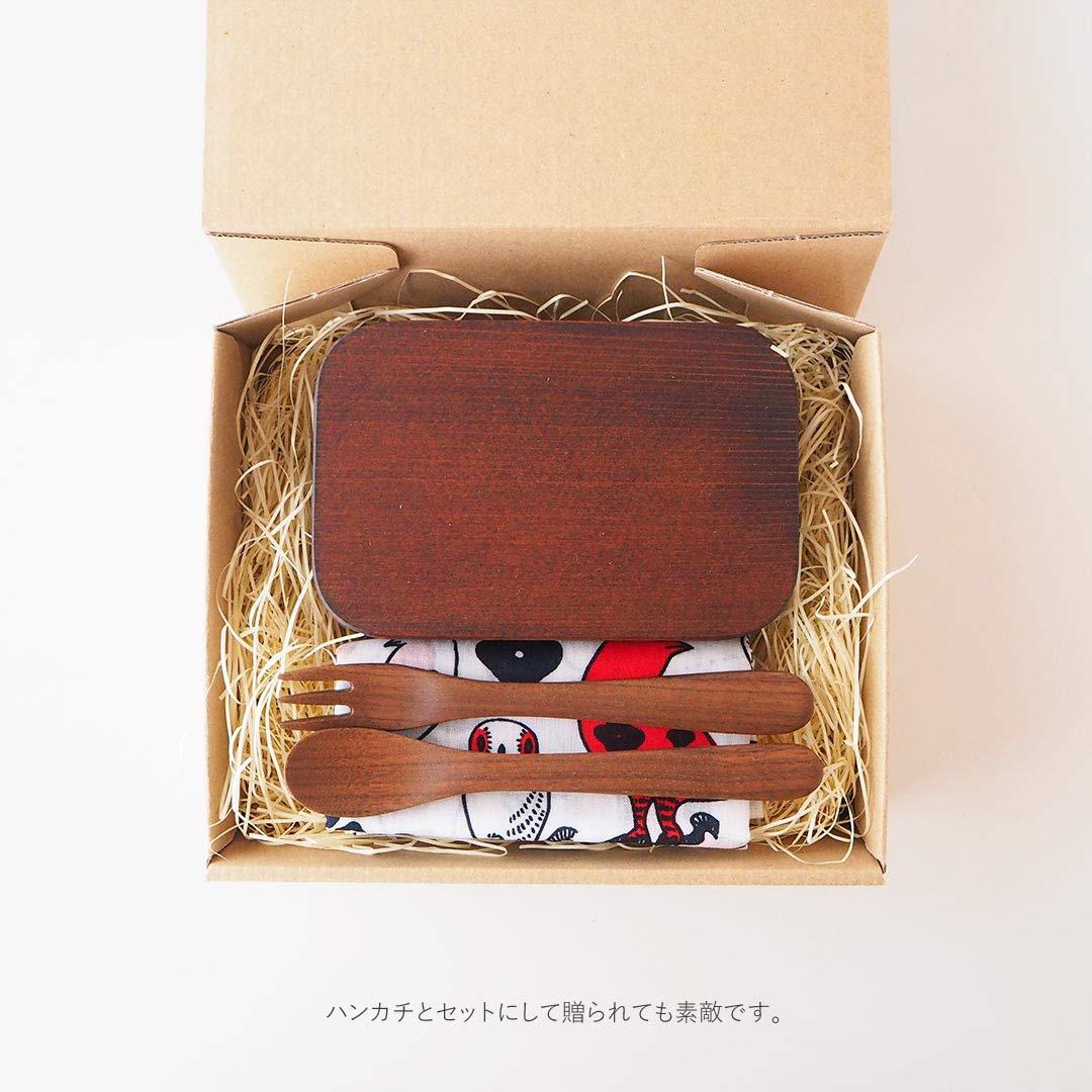 箱入りギフト/こどものお弁当箱とカトラリーのギフト