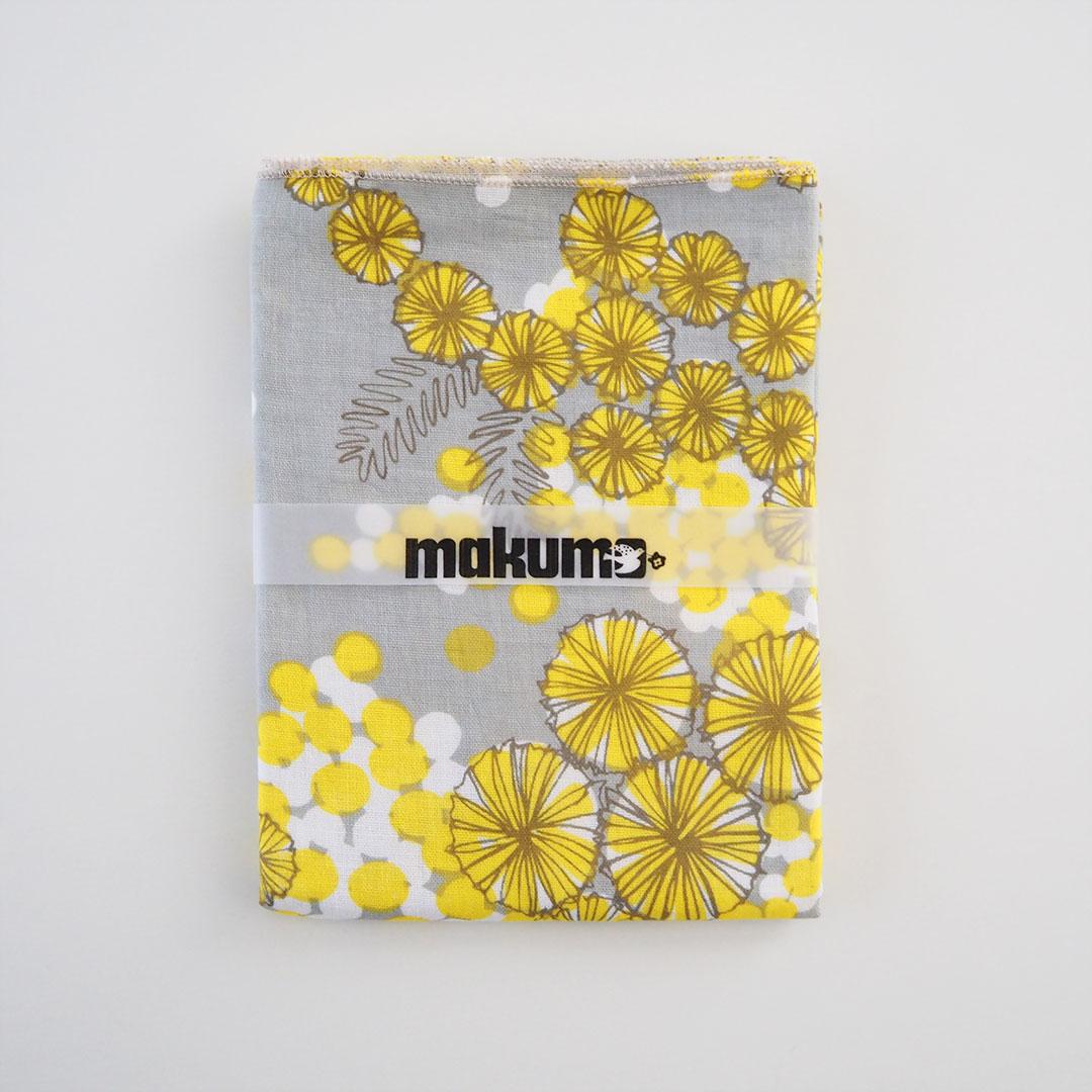 手ぬぐいタオル/ミモザ/黄色