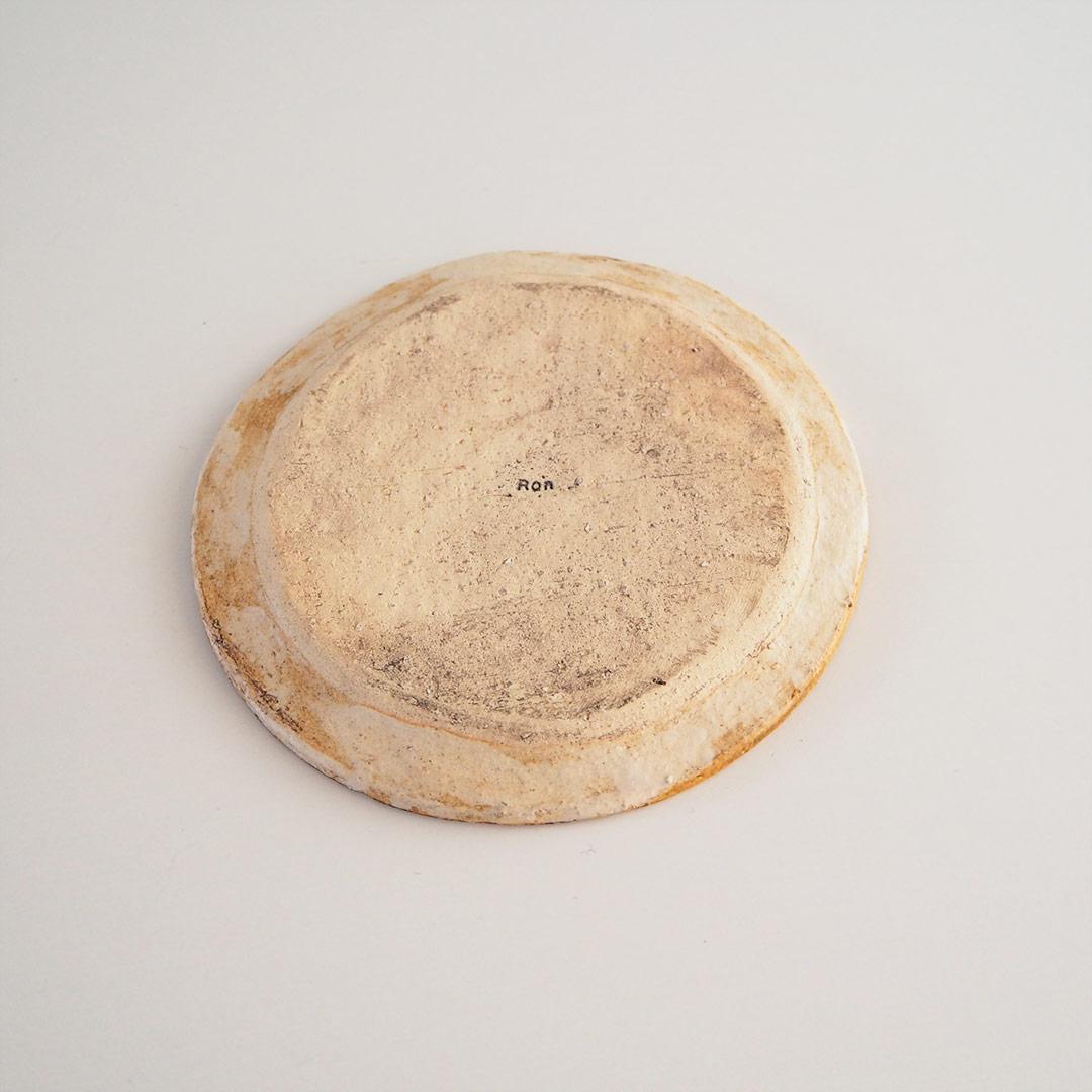 memollage/リム小皿14cm/マスタード