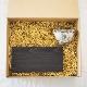 糸島杉の長角皿と三角カップのセット 墨黒