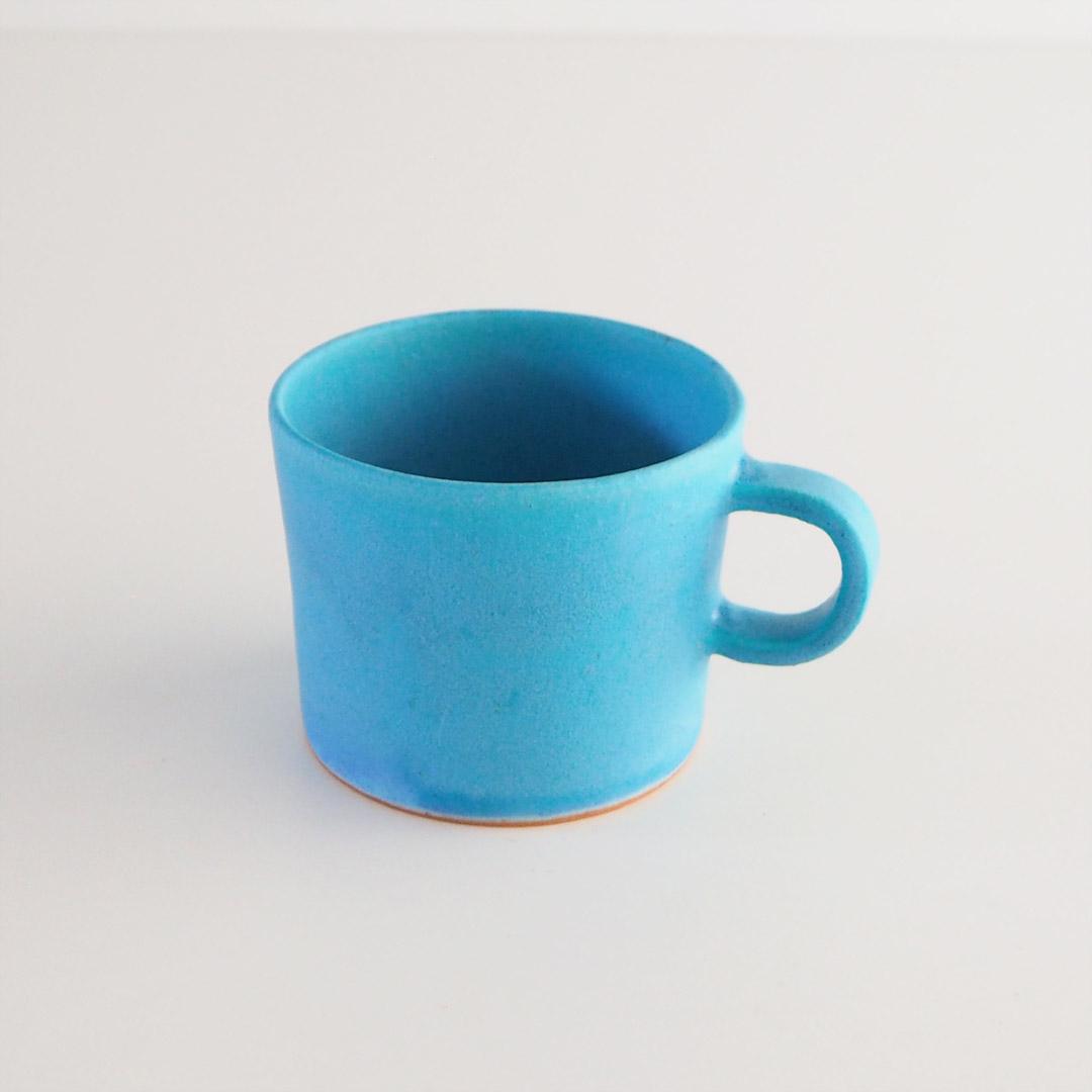 Pure blue/マグカップ