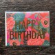 Birthday card【Poppy Birthday】:ポピーフォイル