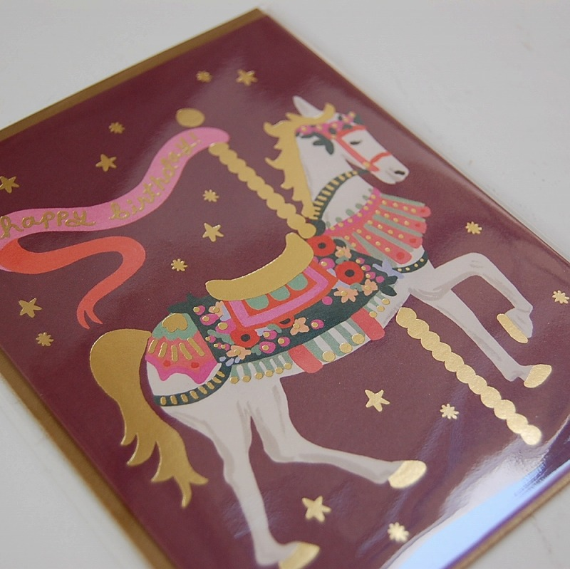 Birthday card 【Carousel Birthday】 :カルーセルバースデー