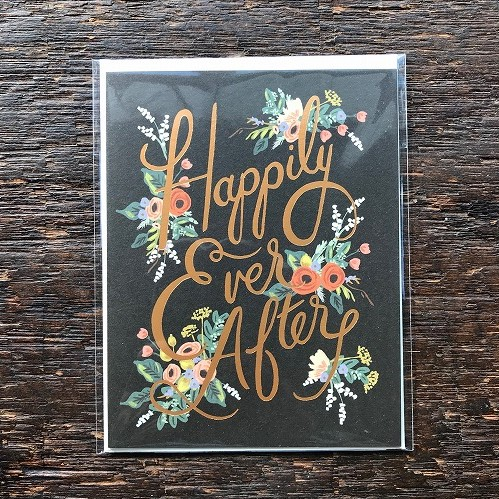Wedding card【Eternal Happy ever after】