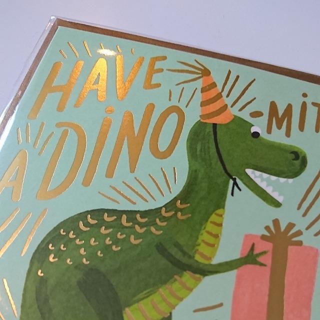 Birthday card 【Dino-Mite Birthday】 :ダイナソーバースデー