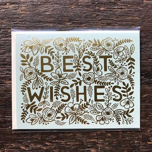 ウェルネスカード【Golden  Best Wishes】