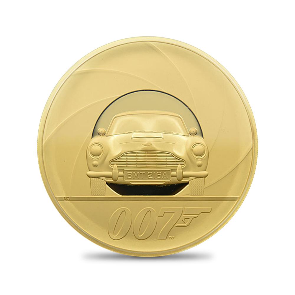 2020 エリザベス2世 ジェームズ・ボンド 「007」特別版 1000ポンド金貨(1�) ロットNo.01