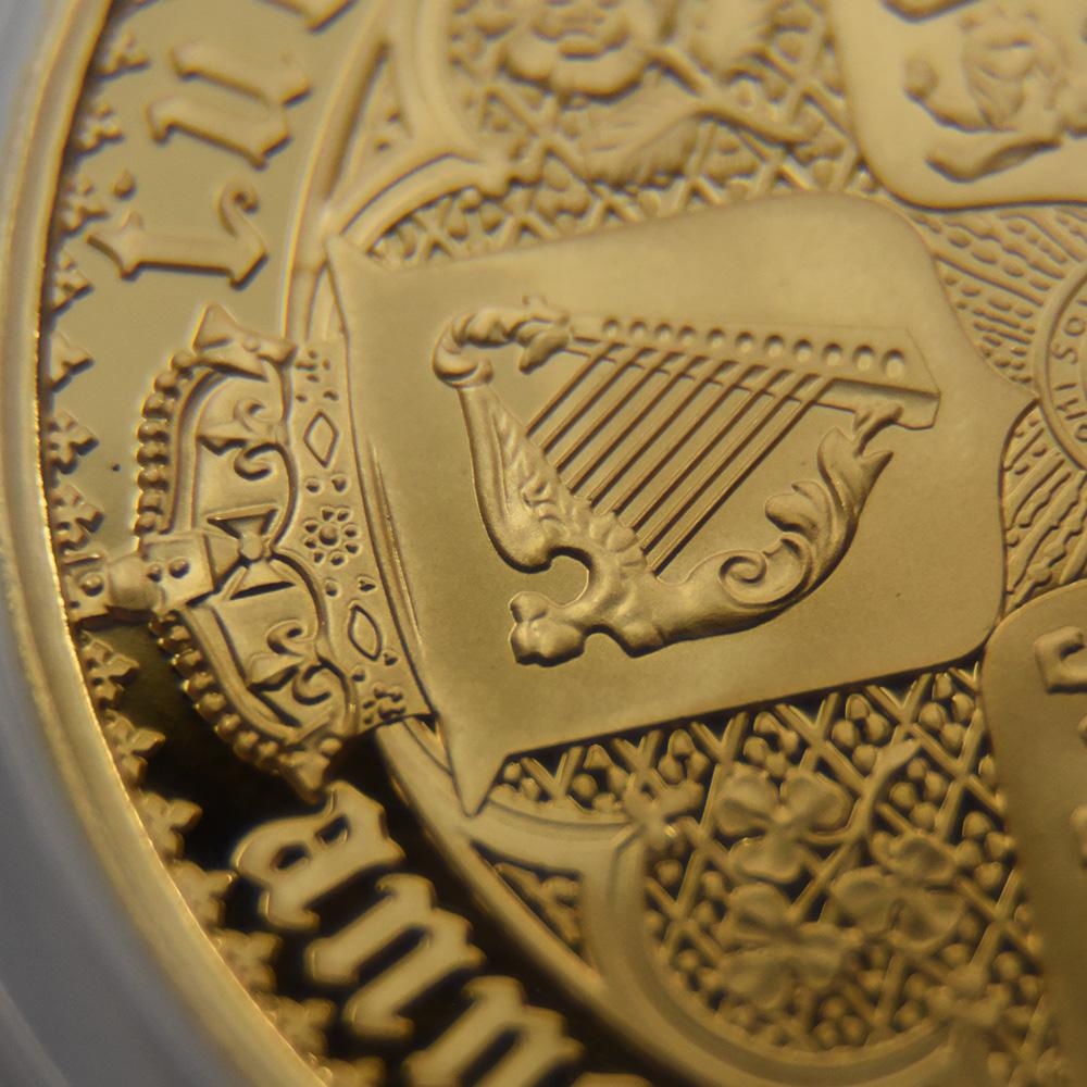 オルダニー島 2021 エリザベス2世 ニューゴチッククラウン 5ポンド金貨 2枚セット プルーフ仕上げ PCGS PR70DC鑑定品 発行数400セット【ご予約承り品】