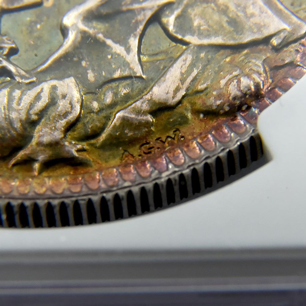 1910 ジョージ5世 クラウン試作銀貨 NGC PF65 (R5)現存数6〜10枚