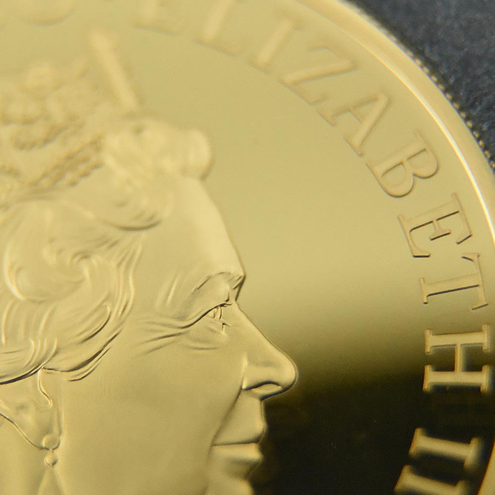2020 エリザベス2世 ジェームズ・ボンド 「007」特別版 500ポンド5オンス金貨