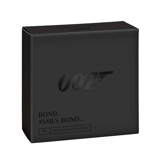 2020 エリザベス2世 「007」 100ポンド1オンス金貨
