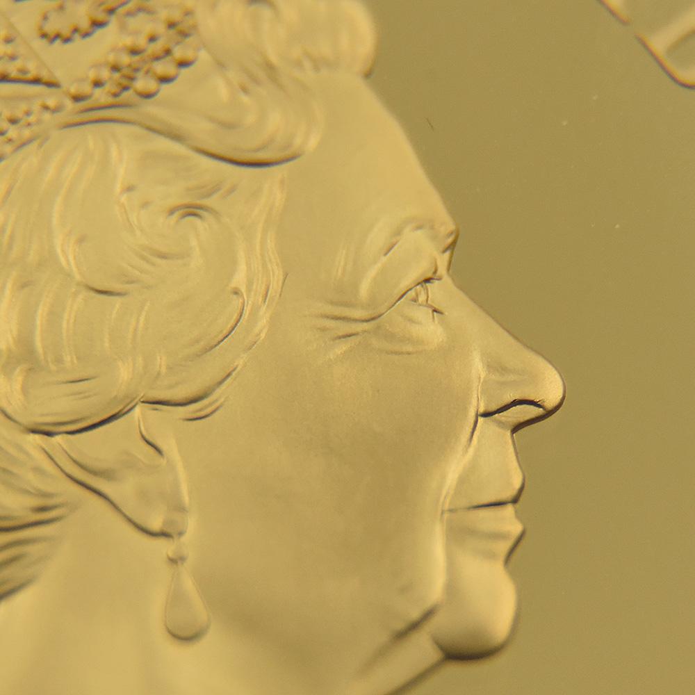 2020 エリザベス2世 ジョージ3世没後200周年記念 200ポンド2オンス金貨  発行即日鑑定品 NGC PF70UC 箱付き