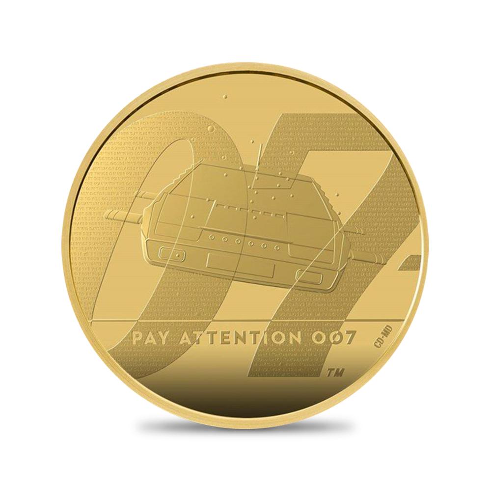 2020 エリザベス2世 「007」 200ポンド2オンス金貨 3点セット