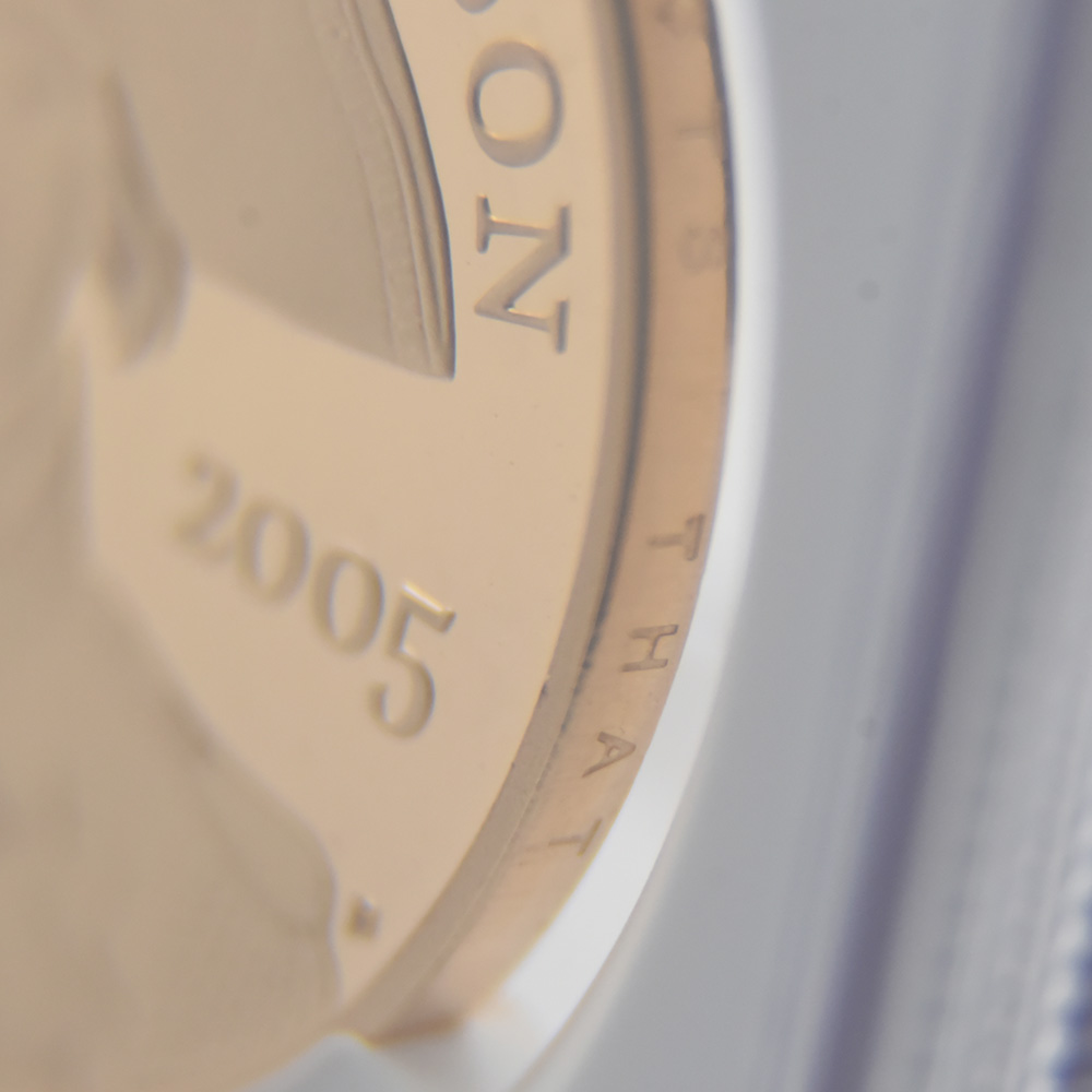 2005 エリザベス2世 Trafalger海戦戦勝200年記念(ネルソン) 5ポンド金貨 NGC PF69UC