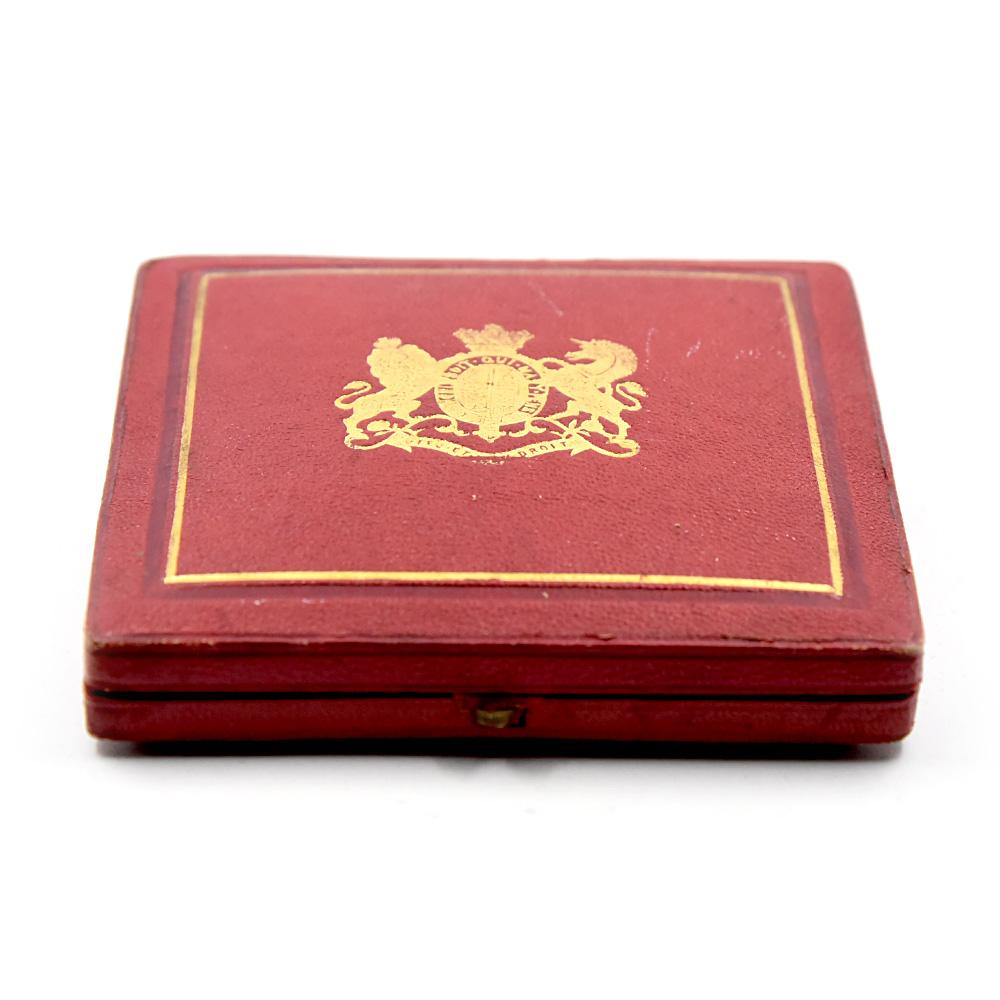 1887 ヴィクトリア女王 戴冠50周年記念 ゴールデンジュビリー 銅メダル NGC MS66BN 箱付き