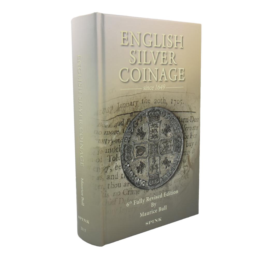 """書籍「English Silver Coinage Since 1649」 """"ESC(BULL)""""カタログ"""