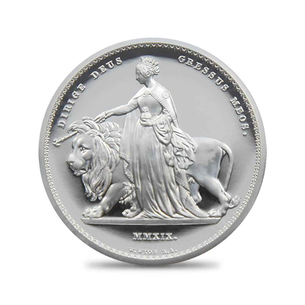 2019 エリザベス2世 ウナ&ライオン 5ポンド銀貨 ファーストリリース NGC PF70UC