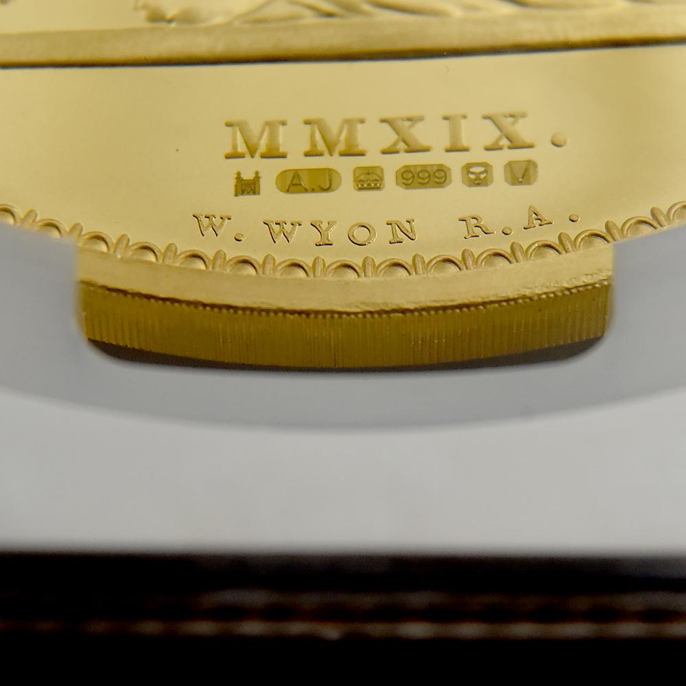 2019 ウナ&ライオン 2000ポンド(2キロ)試作金貨 トライアルピース NGC PF69UC 【ご予約承り品】