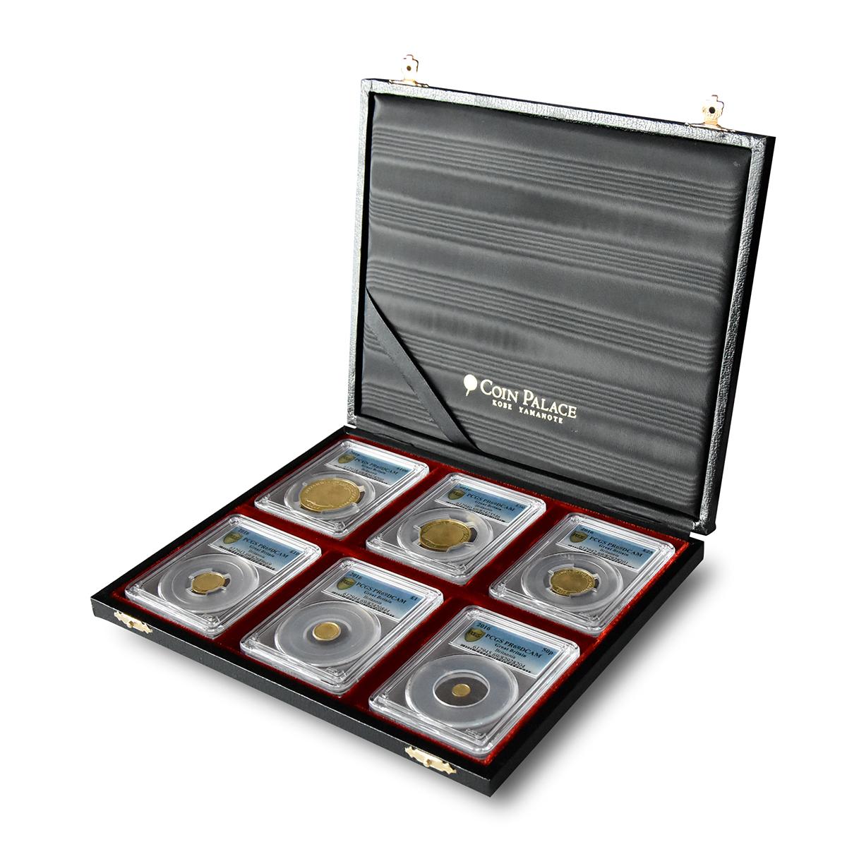 高級スーツケース NGC・PCGS 6枚 収納可能