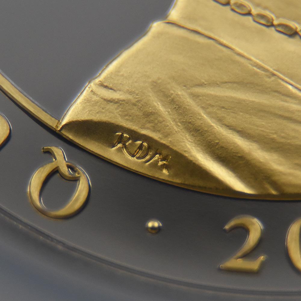 マン島 2020 エリザベス2世 ペニーブラック ウルトラハイレリーフ10ポンド5オンス銀貨 金メッキ付き ファーストデイオブイシュー NGC PF70UCFDI 箱付き