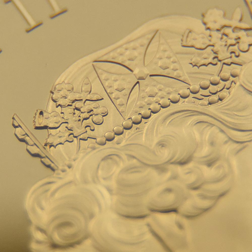アセンション島 2021 エリザベス2世 ダイアナ妃生誕60周年記念 5ポンド金貨 プルーフ仕上げ PCGS PR70鑑定品 発行数400枚【ご予約承り品】