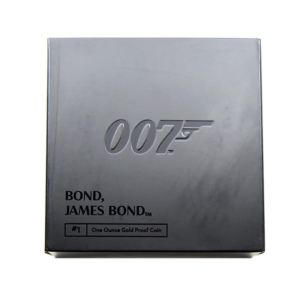 2020 エリザベス2世 007 ジェームズ・ボンド 第1貨 100ポンド1オンス金貨 NGC PF69UC 箱付き
