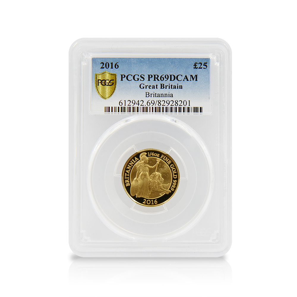 2016年 ブリタニア 金貨6枚セット PCGS PR69DC