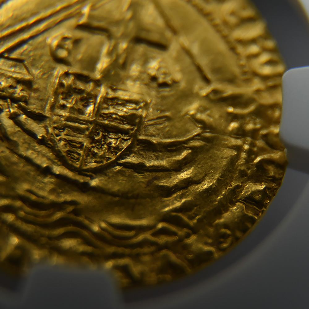 1477-80 エドワード4世 エンジェル金貨 NGC MS63