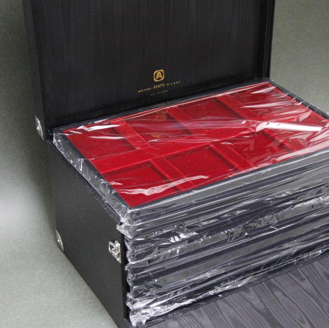 高級スーツケース NGC、PCGS 最大80枚(トレー10枚付) 収納可能