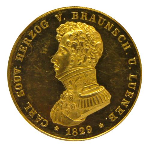 ドイツ 1829 CVC 10T BRUNSWICK-WOLFEN KM-1115 MS62