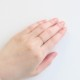 【7月 誕生石】K10YG 1粒ルビー誕生石リング / 誕生石ピンキーリング 1〜18号【オーダーメイド商品】