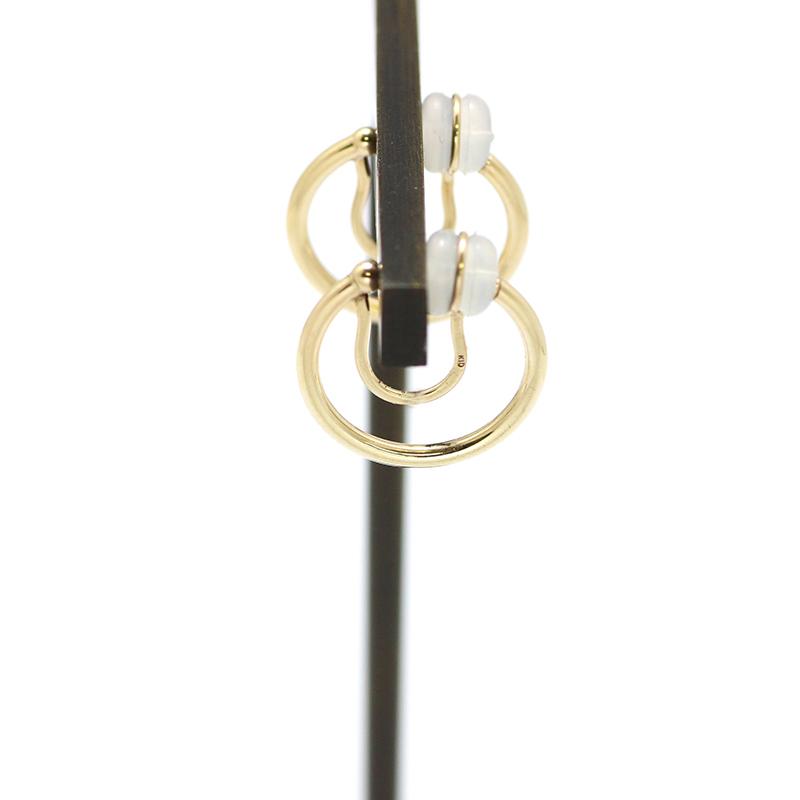 フープイヤリング K10YG