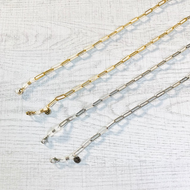 Glasses & Mask & Loupe Chain Clip
