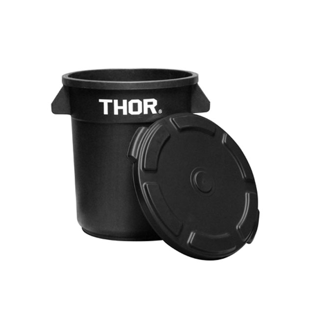 """Thor Round Container """"23L / Gray"""""""