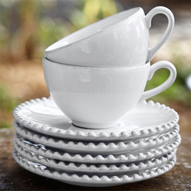 コスタ・ノバ パール コーヒーカップ&ソーサー (エスプレッソ用)