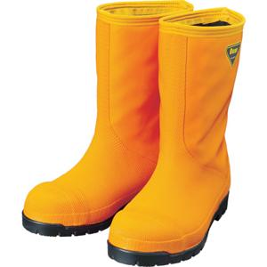 SHABATA 冷蔵庫用長靴 -40℃ オレンジ/ブラック