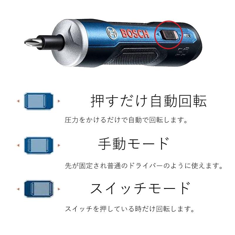【コードレスドライバー Bosch Go】