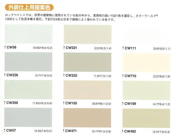 【ハイパーユメロック】 「淡彩(主剤)・標準硬化剤 15kgセット」ロックペイント