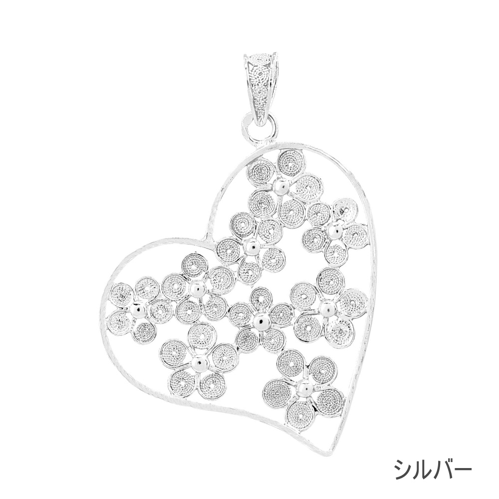 NANA フロールネックレス/シルバー/銀線細工