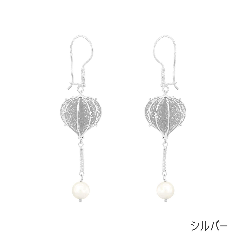 NANA エッセンスピアス/シルバー/銀線細工