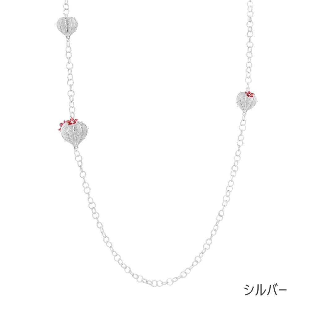 NANA サクラエッセンスネックレス/シルバー/銀線細工