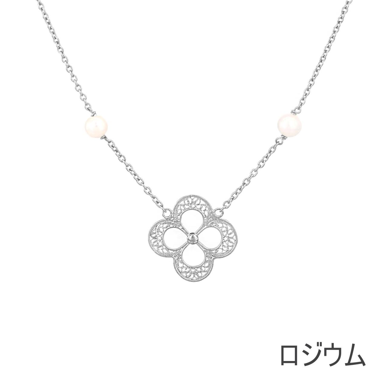 NANA ラッキーミーネックレス/シルバー/銀線細工