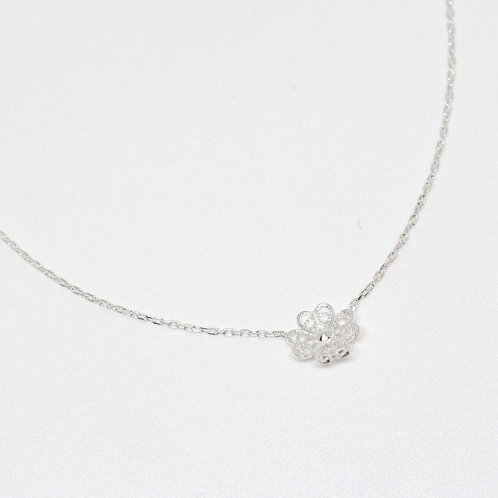 NATURE ラック ネックレス シルバー/銀線細工