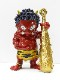 瀧下和之×北村和義 コラボレーション企画 <br>九谷焼フィギュア「色絵金彩 鬼に金棒。」完売
