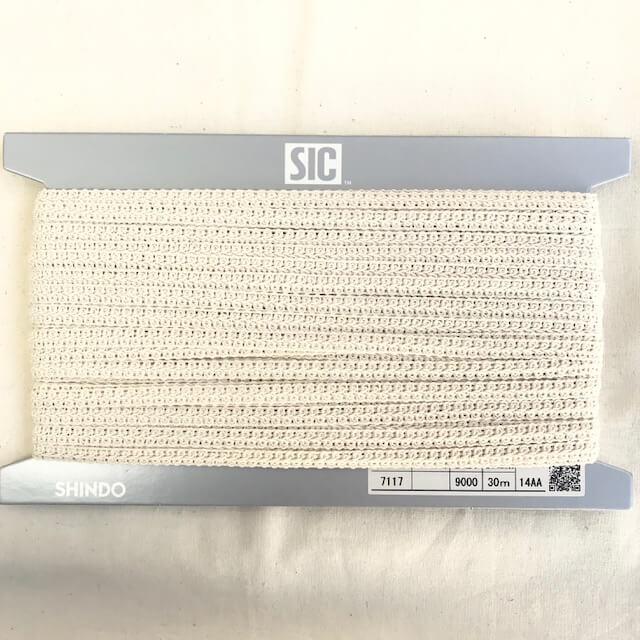 SIC-7117:コットンレースブレード(30m巻販売)