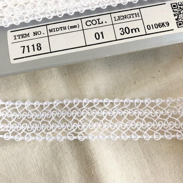 SIC-7118:コットンレースブレード(m販売)