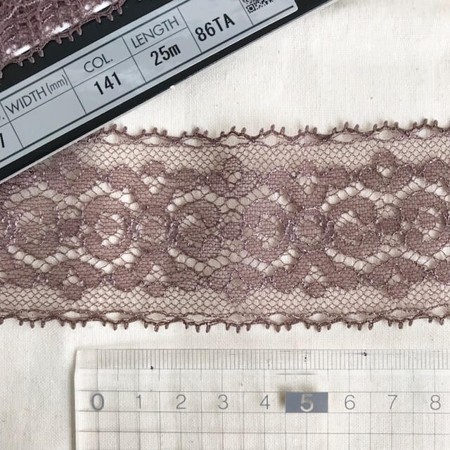SIC-7827:ジャガードトリミングレース(m販売)