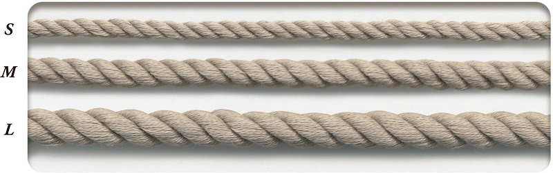SIC-3041:コットンツイストコード(30m/50m巻販売)